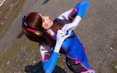 D.va cosplay - Empress Natsumi